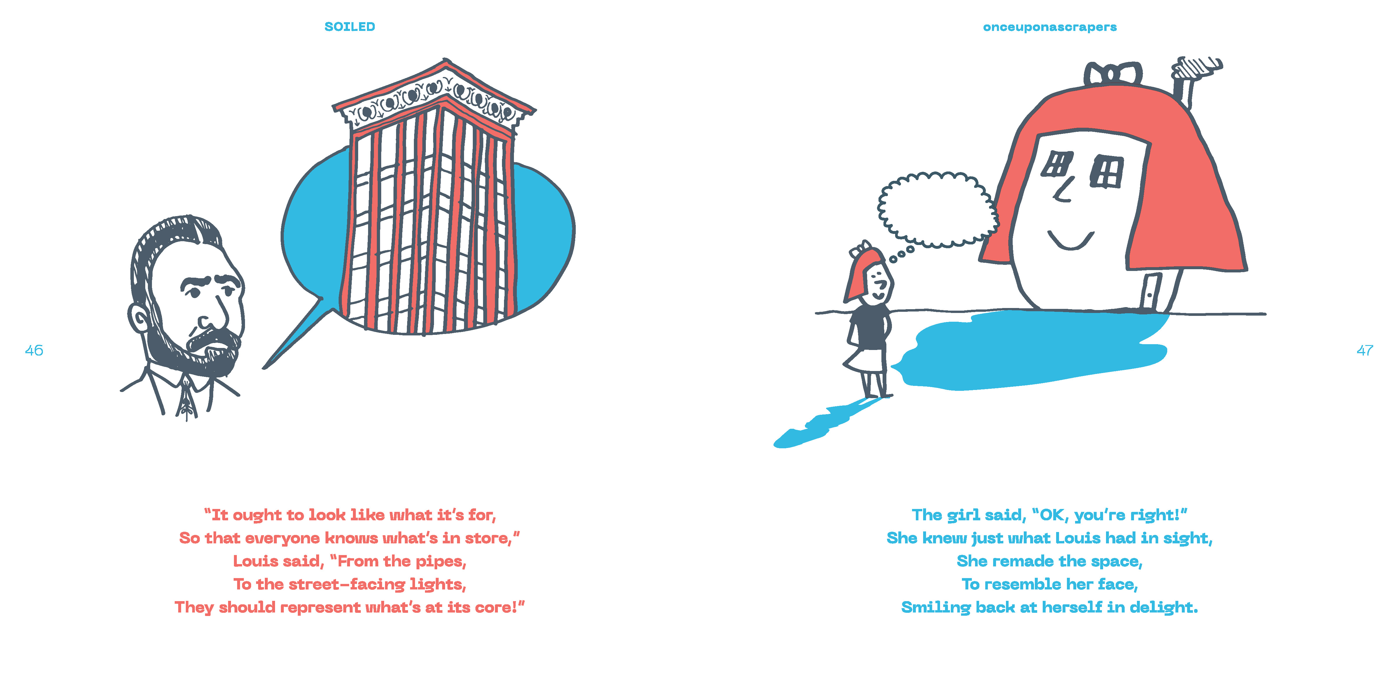 OK Architecture Axel Olson Milo Krimstein Soiled Zine childrens story