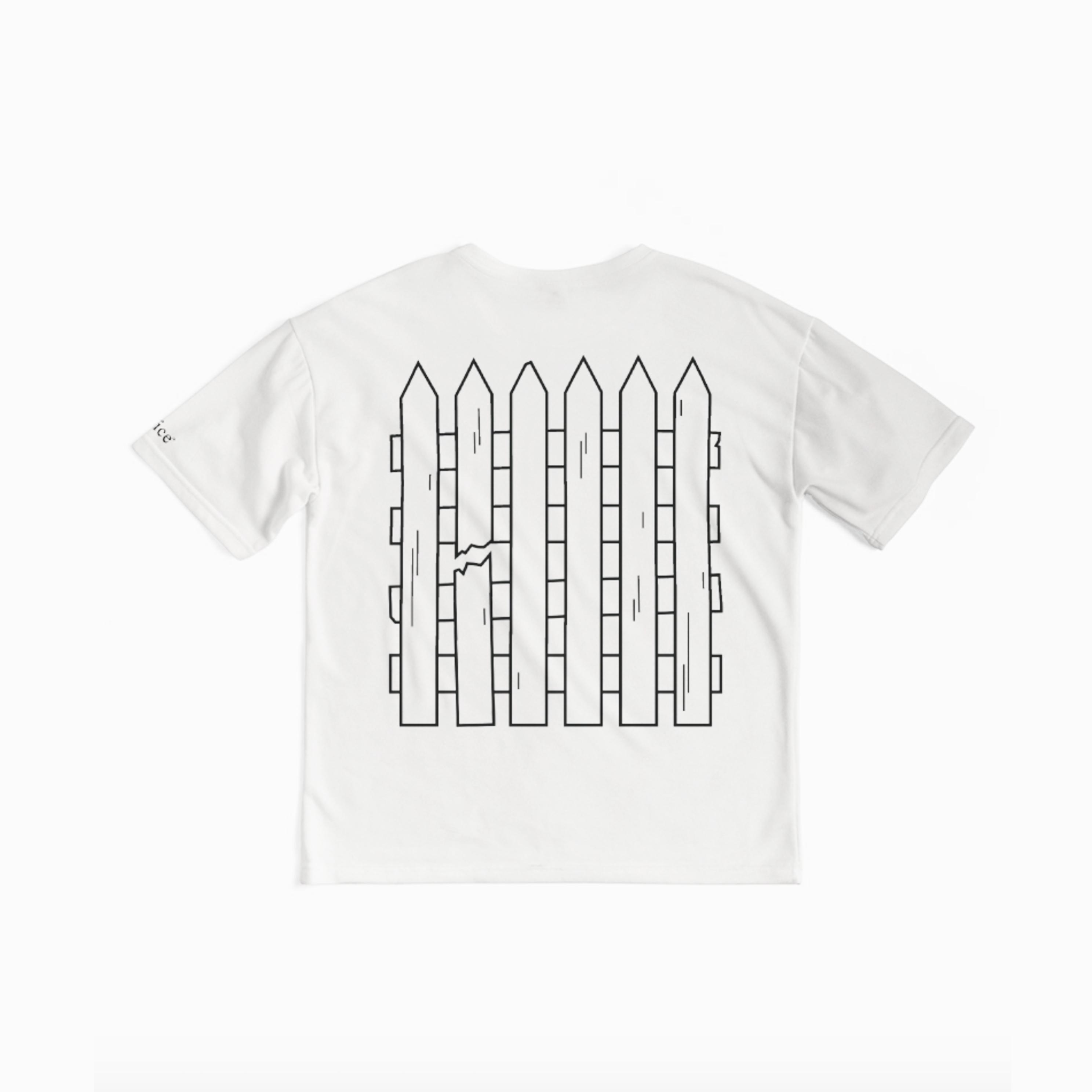 Axel Olson broken barriers t shirt design