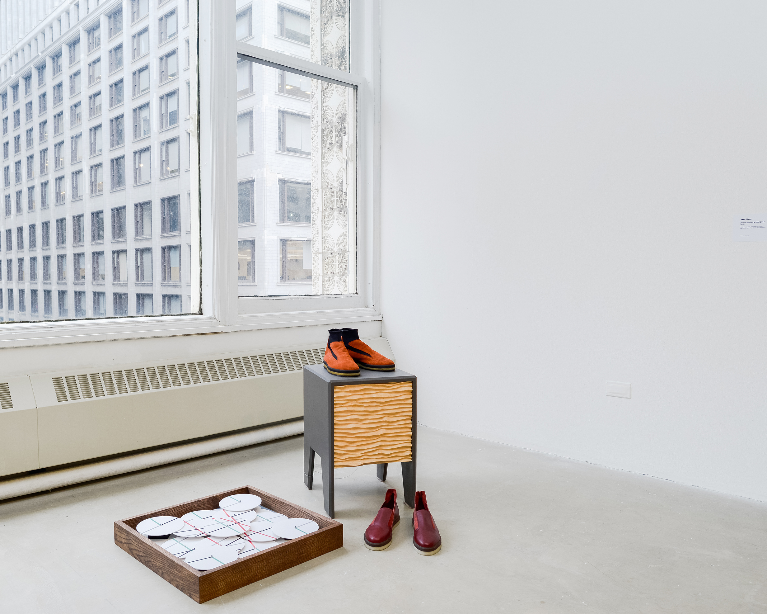 Roma Room without a Bed 2018 SAIC Sullivan Galleries