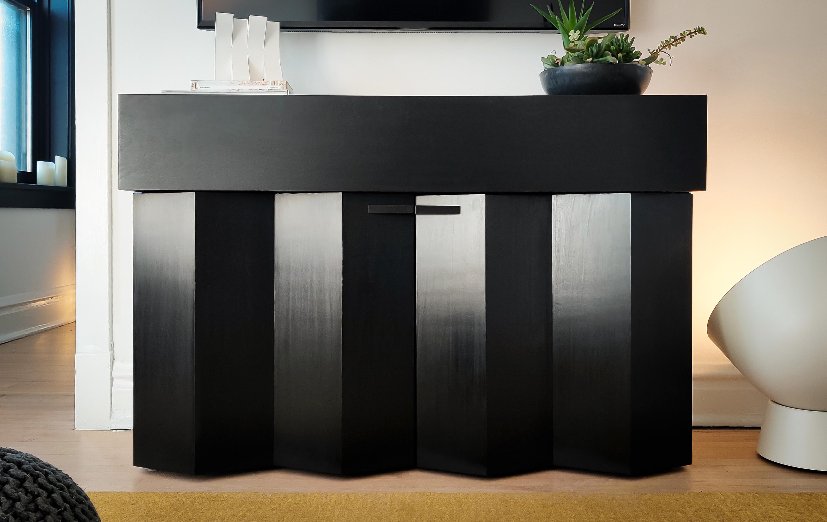 Axel Olson Penumbra credenza tv console design