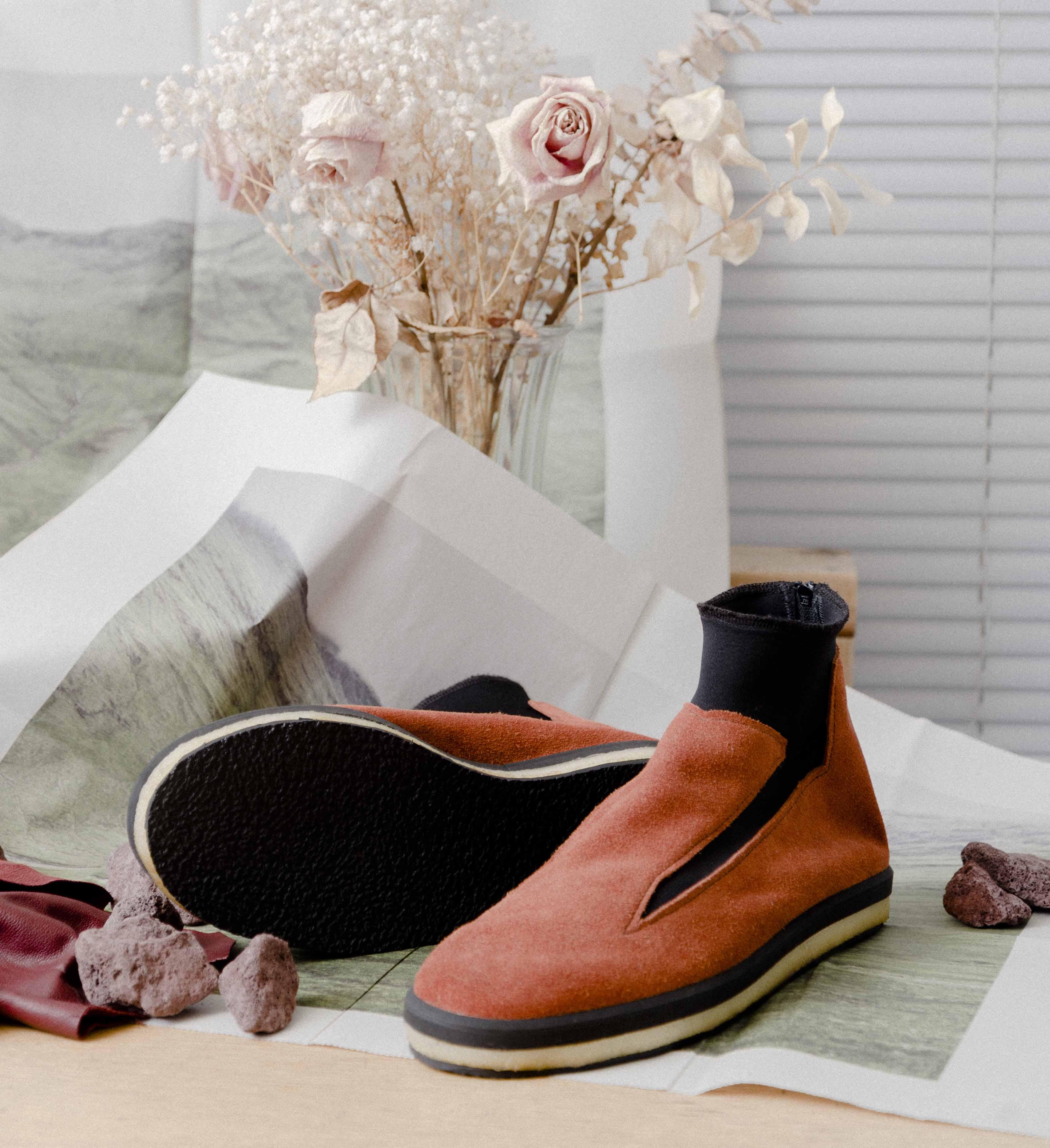 Axel Olson handmade shoe design Norma
