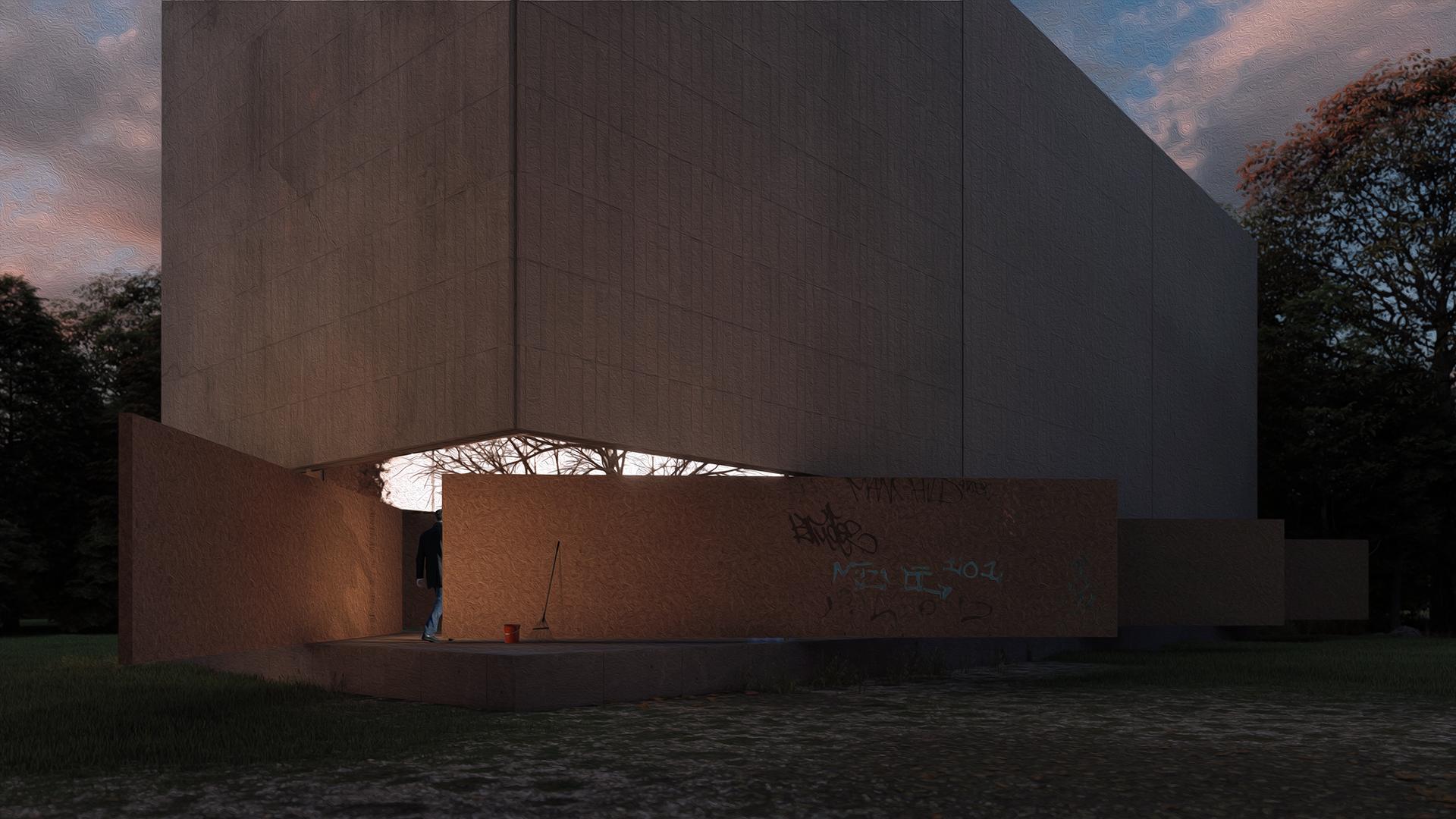 Pivot House Axel Olson Architecture Design
